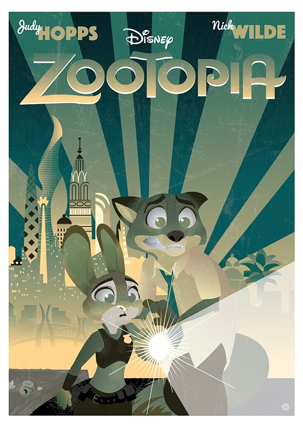 Zootopia Best Posters - Zootopia's Sherlocks