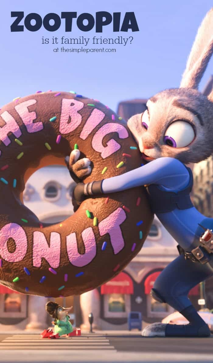 Zootopia Best Posters - The Big Donut