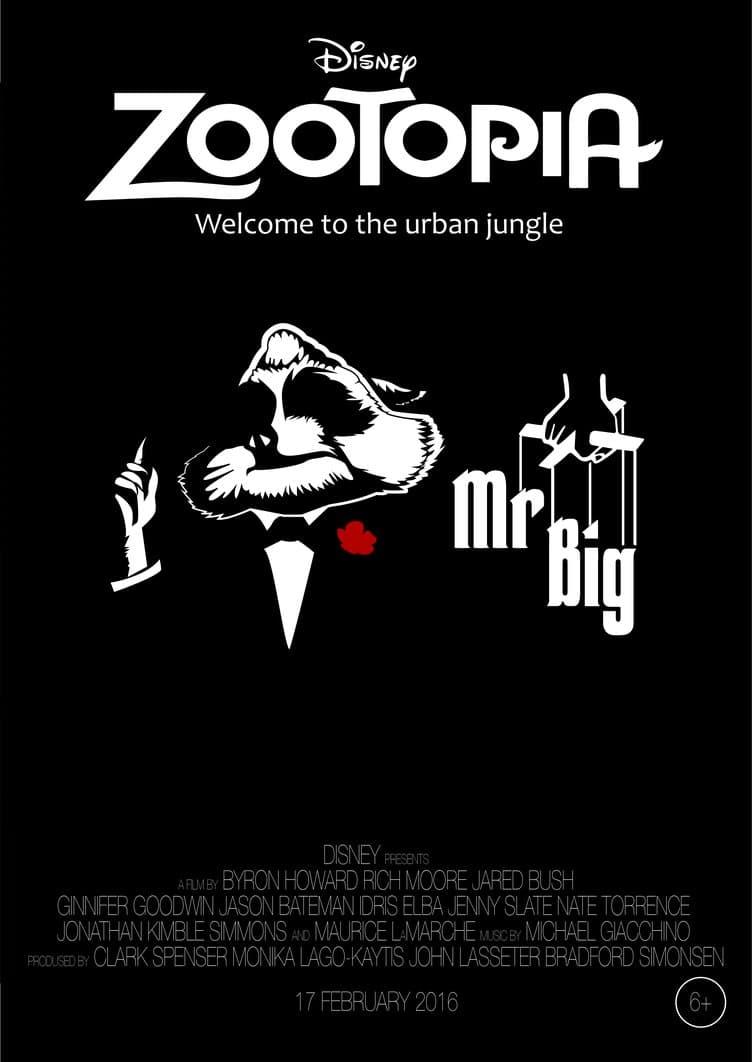 Zootopia Best Posters - Zootopia's Godfather