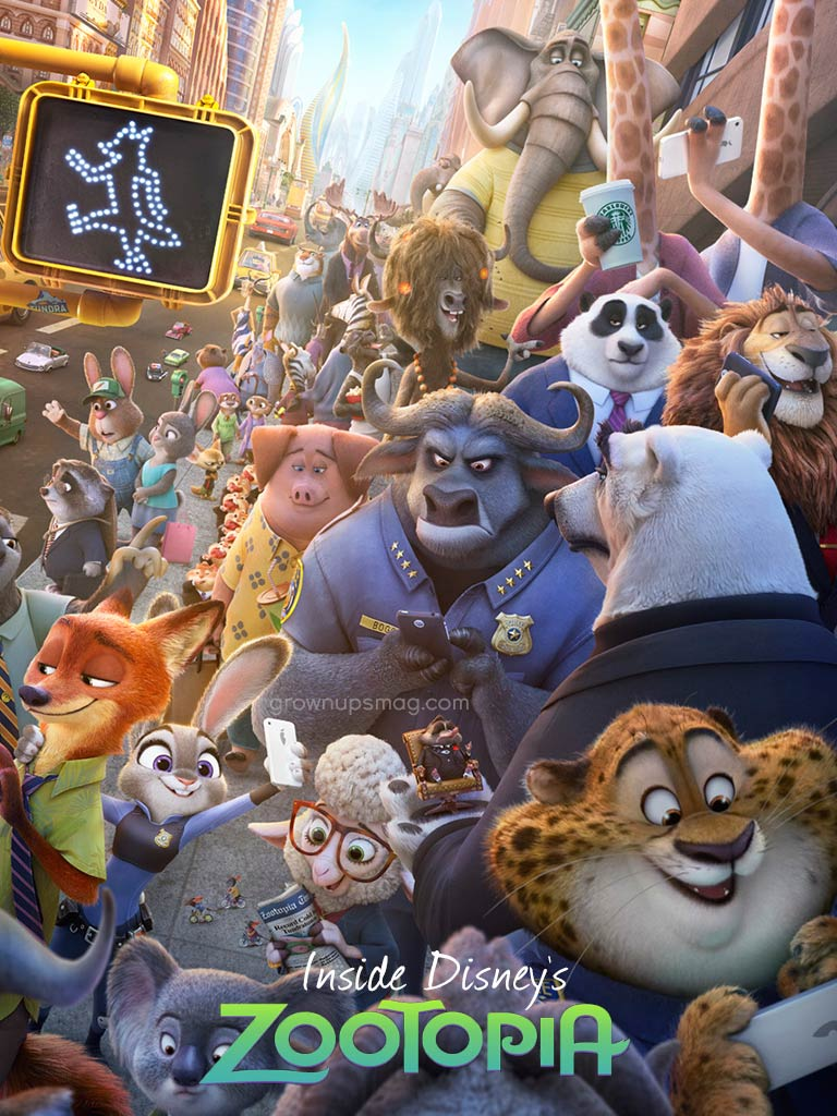Zootopia Best Posters - The Whole Zootopia Family