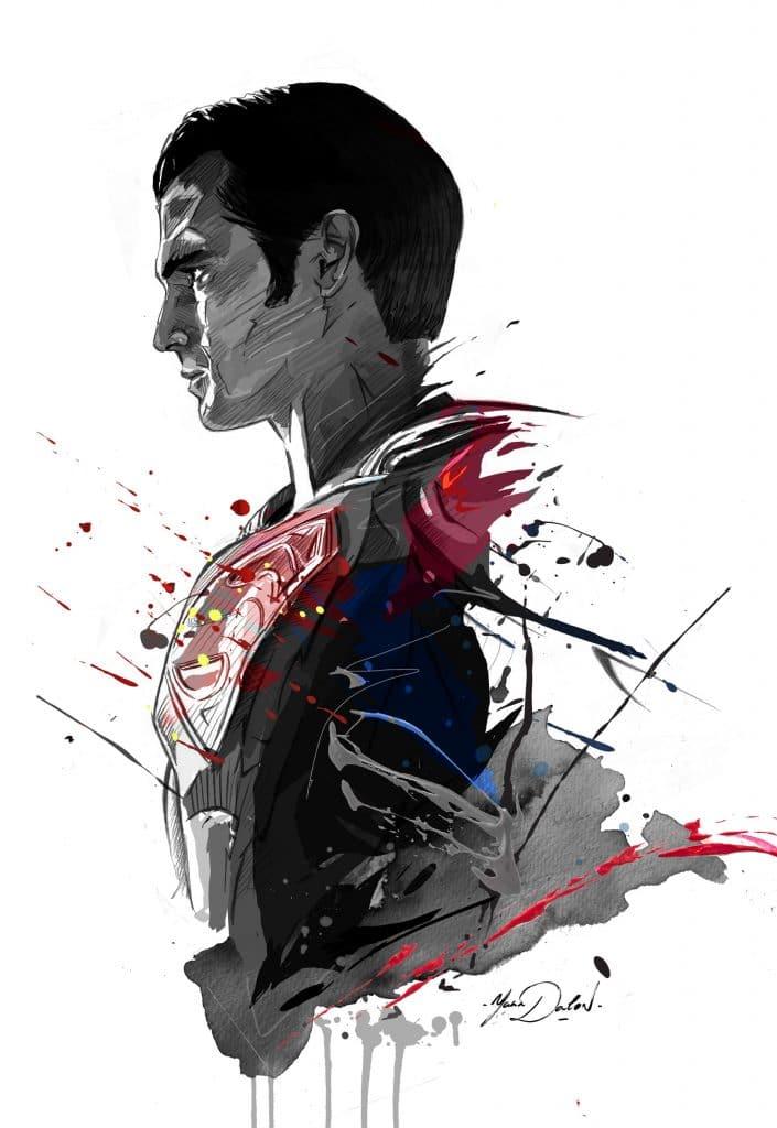 Batman-Vs-Superman-Posters-hd-printable-superman-sketch-art-by-fan