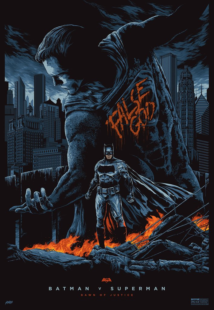 Batman-Vs-Superman-Posters-hd-printable-batman-and-super-false-god-statue