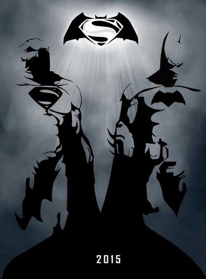 Batman-Vs-Superman-Posters-hd-printable-sketch-art-cartoon-black-and-white