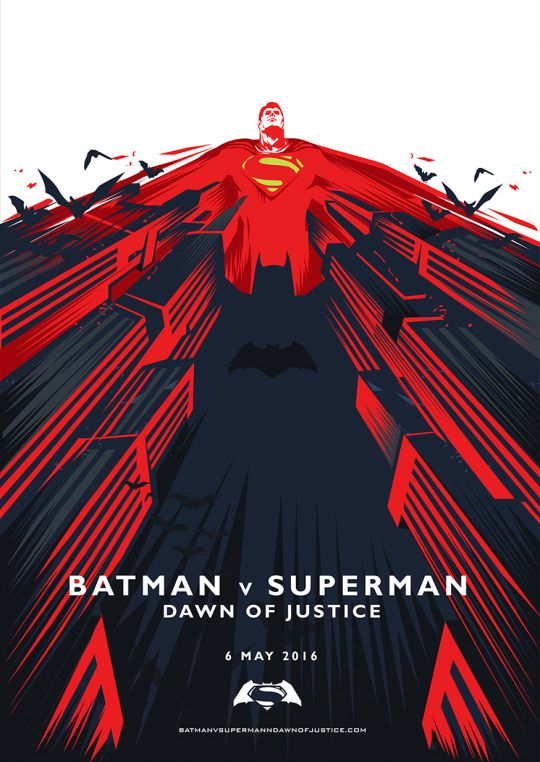 Batman-Vs-Superman-Posters-hd-printable-superman-art-poster-all-red