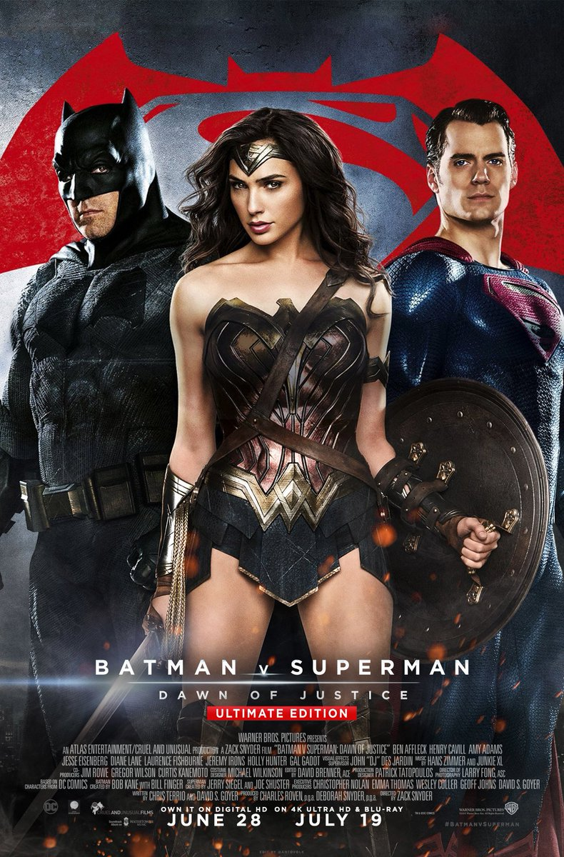 Batman v Superman poster collection