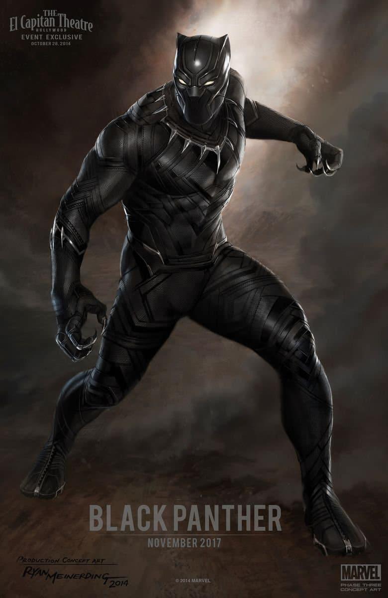 Black-Panther-hd-printable-Poster-hd-dark-animation-cartoon-art