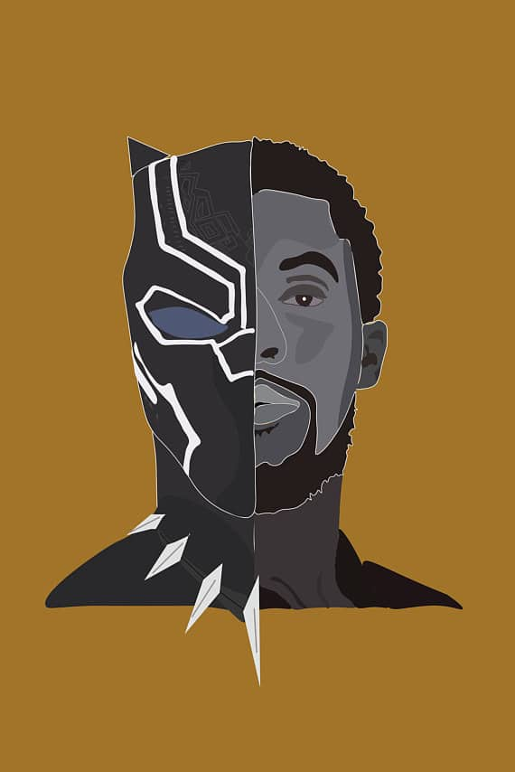 Black-Panther-hd-printable-Poster-hd-wallpaper-both-faces-of black-panther-in-one