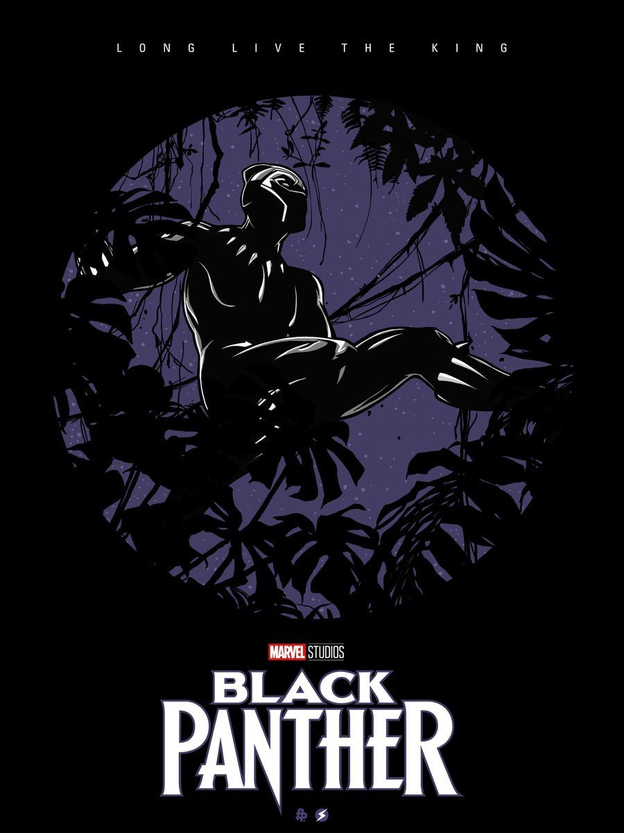 Black-Panther-hd-printable-Poster-hd-animation-cartoon-art-poster