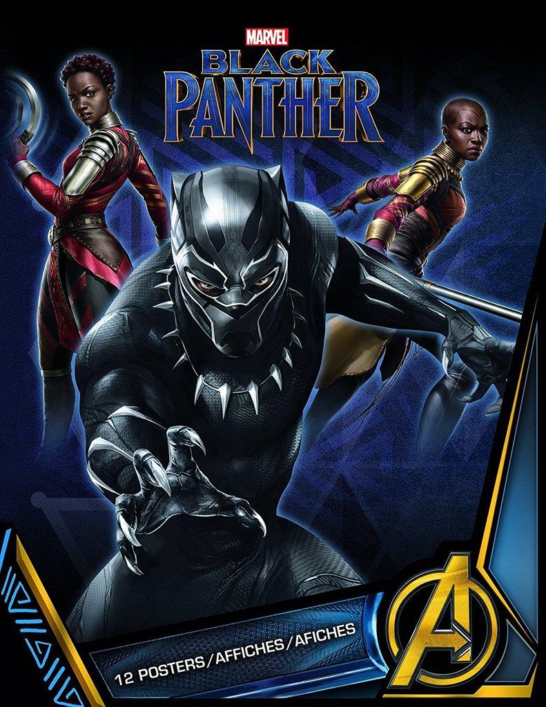 Black-Panther-hd-printable-Poster-hd-art-cartoon-animation-poster