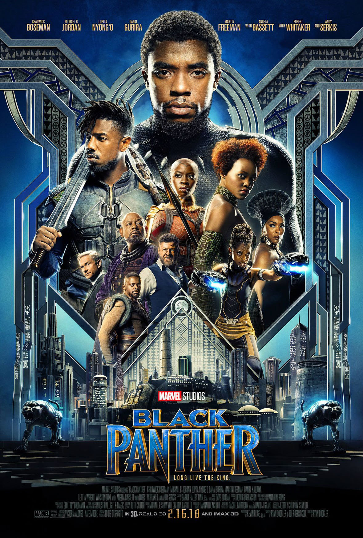photograph about Movie Posters Printable identified as Black Panther Poster: 30+ Printable Posters (Absolutely free Obtain)