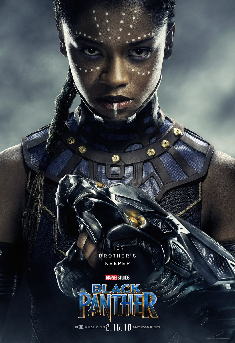 Black-Panther-hd-printable-Poster-hd-shuri-Tchallas brother