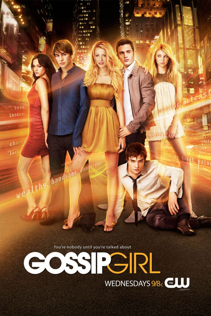 Gossip Girl uper east siders poster