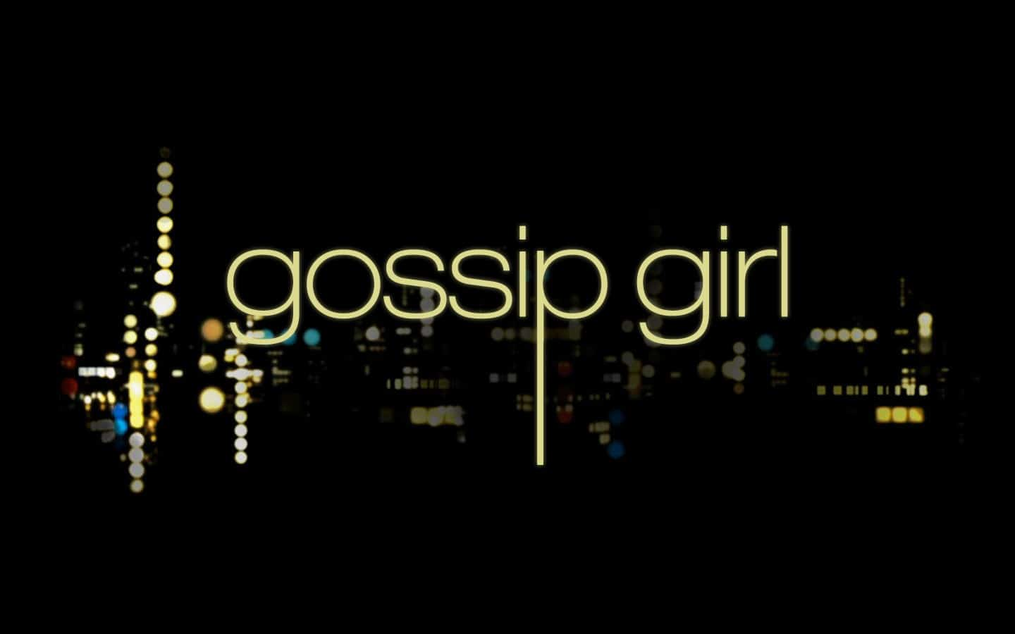 Gossip Girl intro poster
