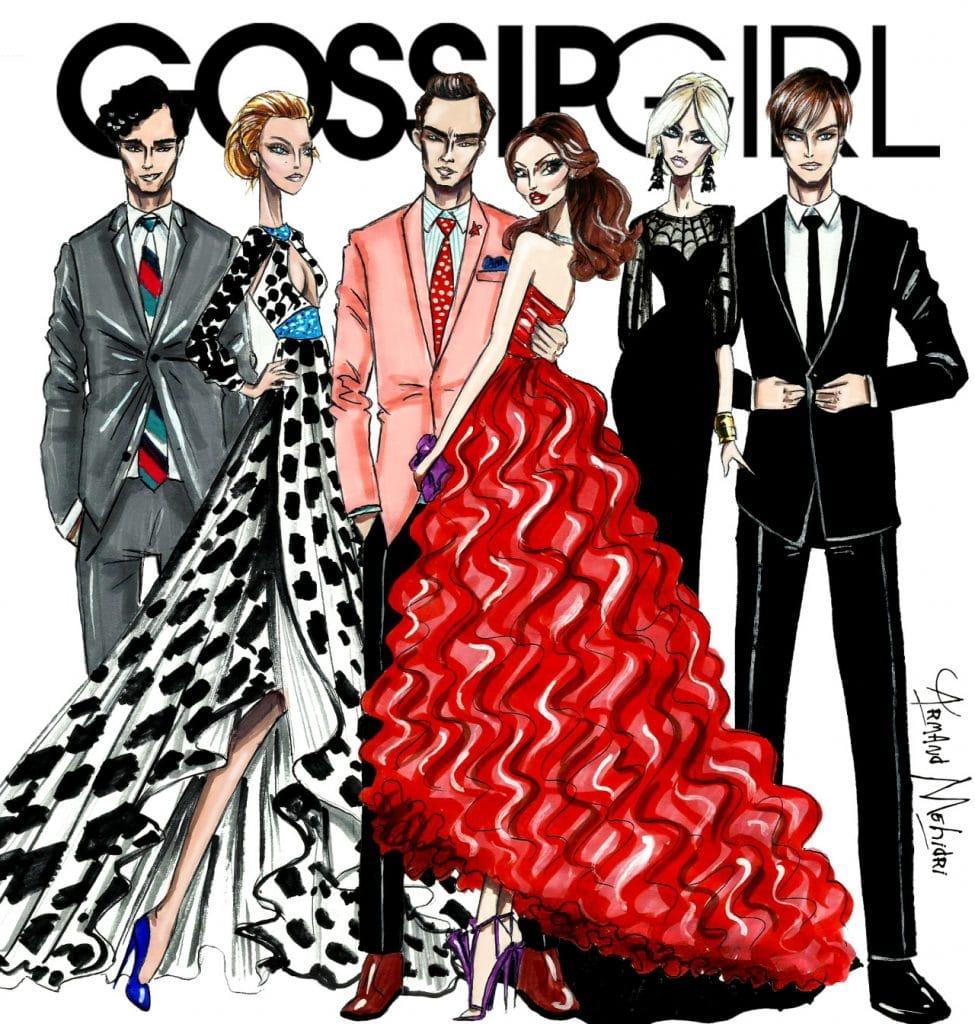Gossip Girl fan poster