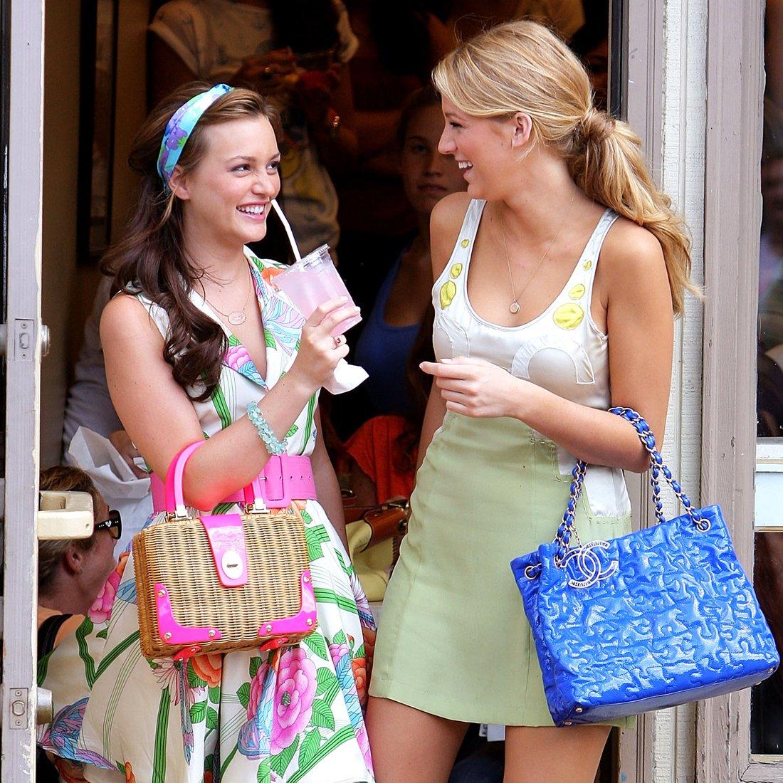 Gossip Girl poster Blair and Serena