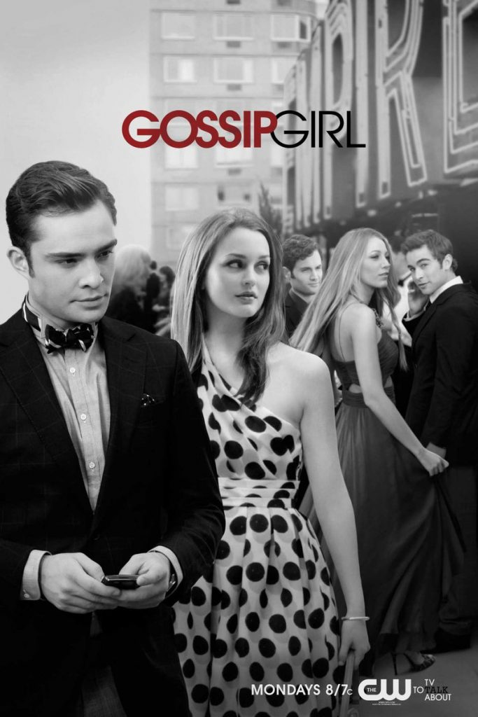 Gossip Girl poster Chuck and Blair
