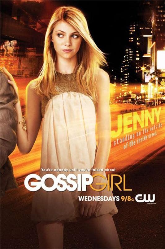Gossip Girl Jenny poster