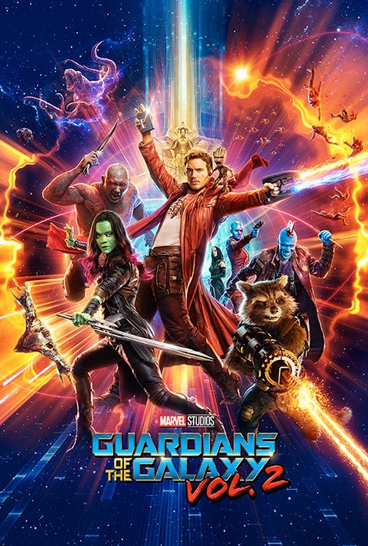 Guardians of The Galaxy 2 Poster Collection