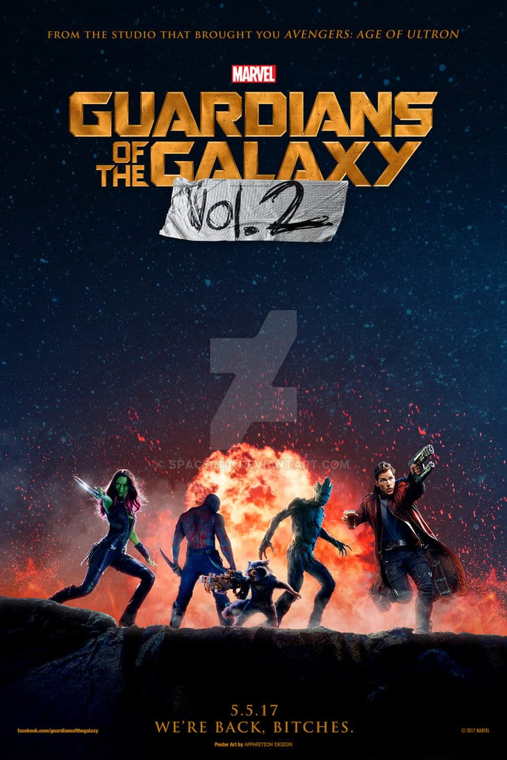 guardians of the galaxy 2 poster