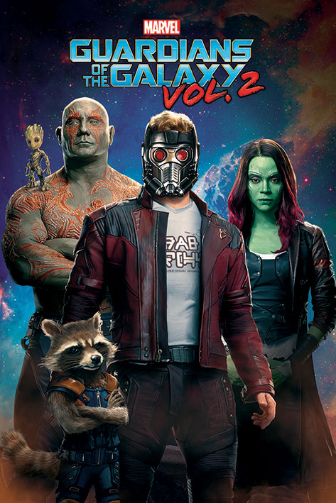 Guardian-of-the-galaxy-vol-2-high-quality-printable-posters-wallpapers-stylish-peter-quill-and-his-team