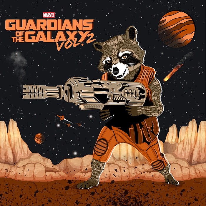 Guardian-of-the-galaxy-vol-2-high-quality-printable-posters-wallpapers-rocket-racoon-animated-poster