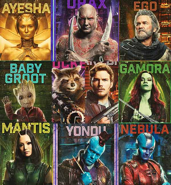 Guardian-of-the-galaxy-vol-2-high-quality-printable-posters-wallpapers-collage-of-all-the-characters