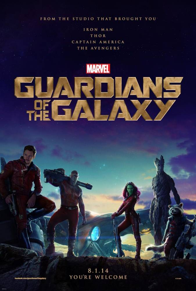 Guardians of the Galaxy poster collection