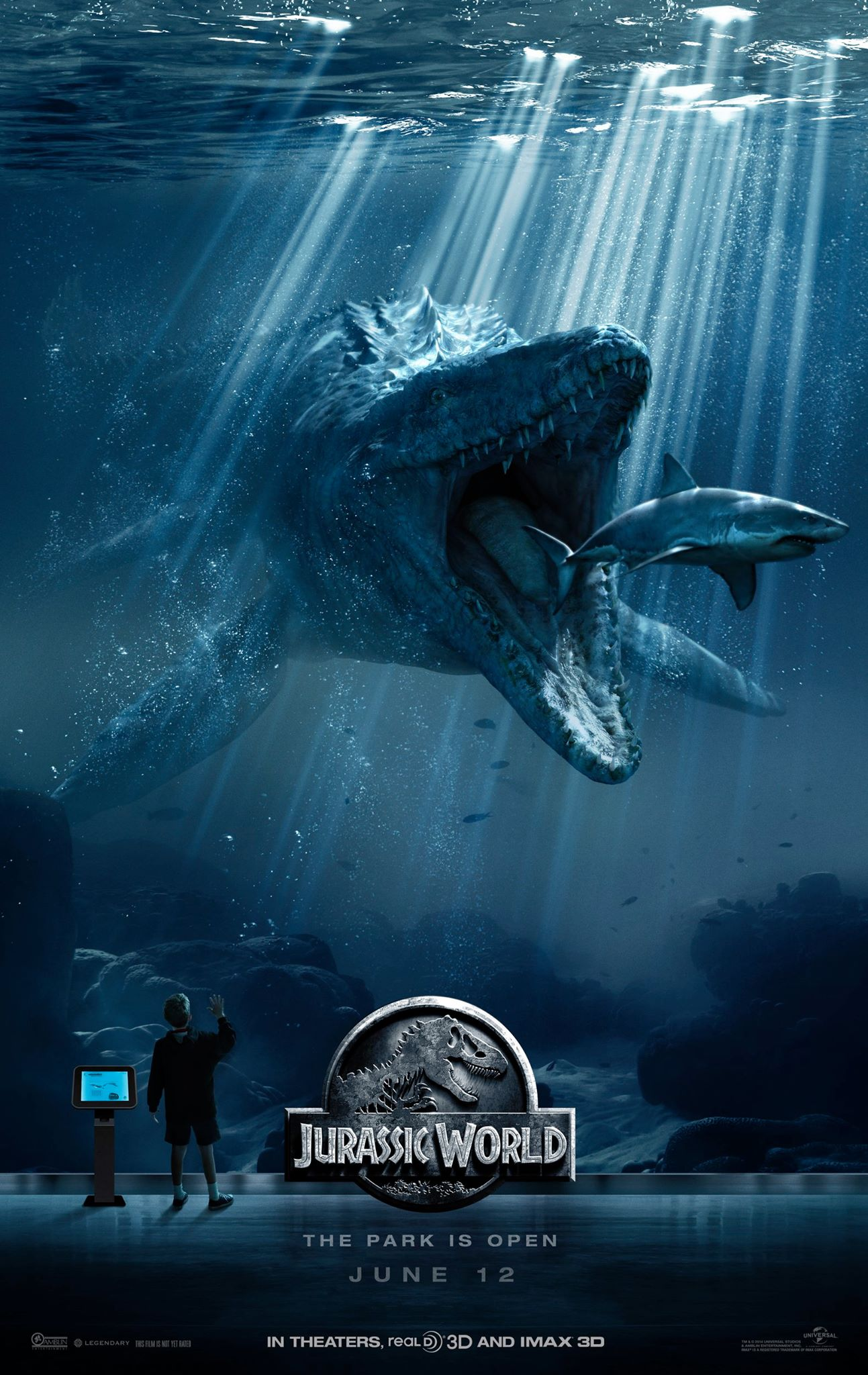 Jurassic World posters collection