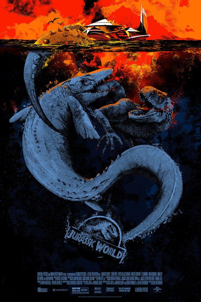 Jurassic-World-Poster-hd-printable-the-final-scene-poster-mosasaur-sea-monster-vs-indominus