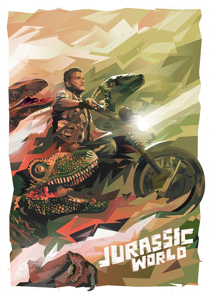Jurassic-World-Poster-hd-printable-classic-poster-chris-pratt-on-bike