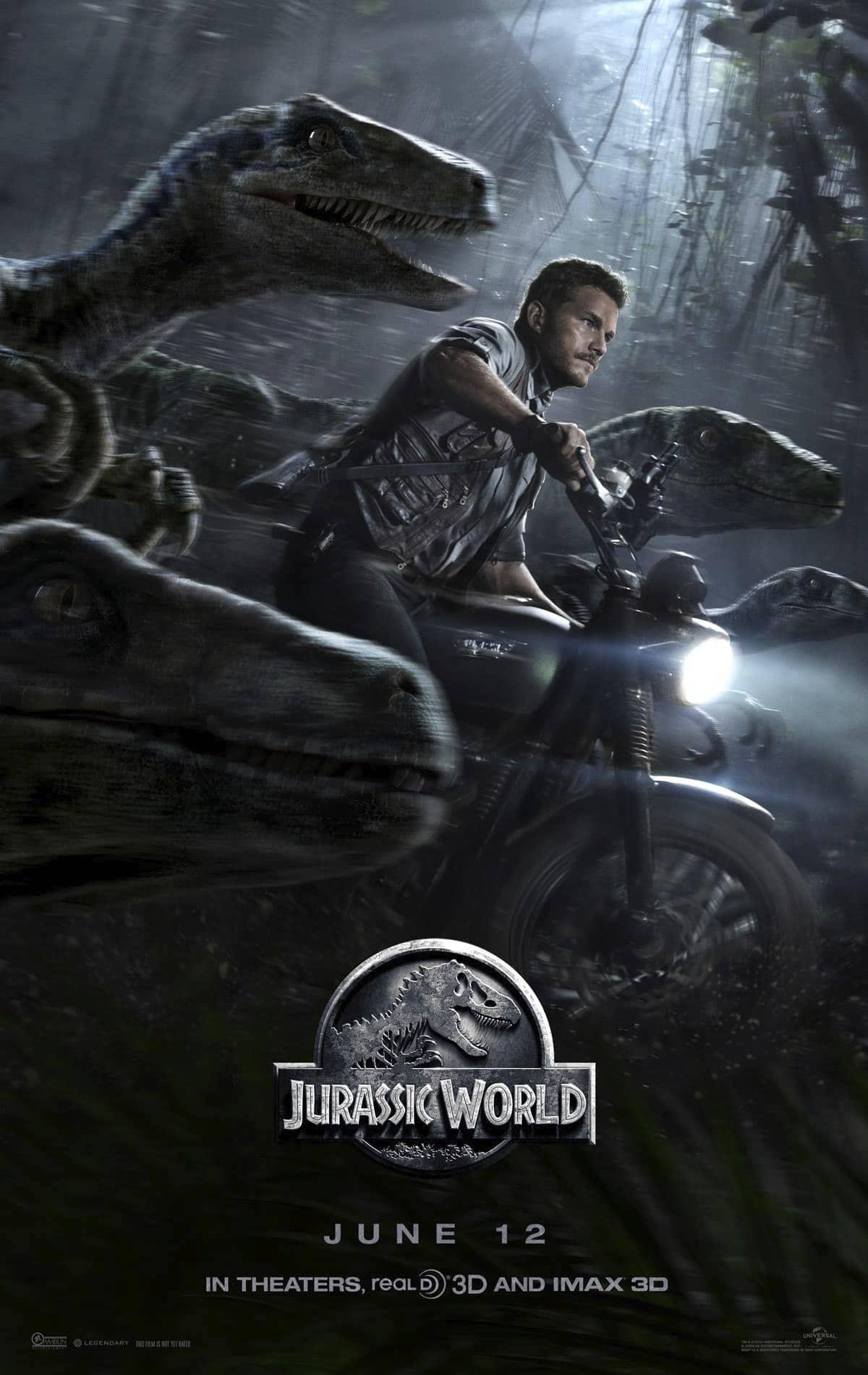 Jurassic-World-Poster-hd-printable-chris-pratt-owen-grady-bike-scene