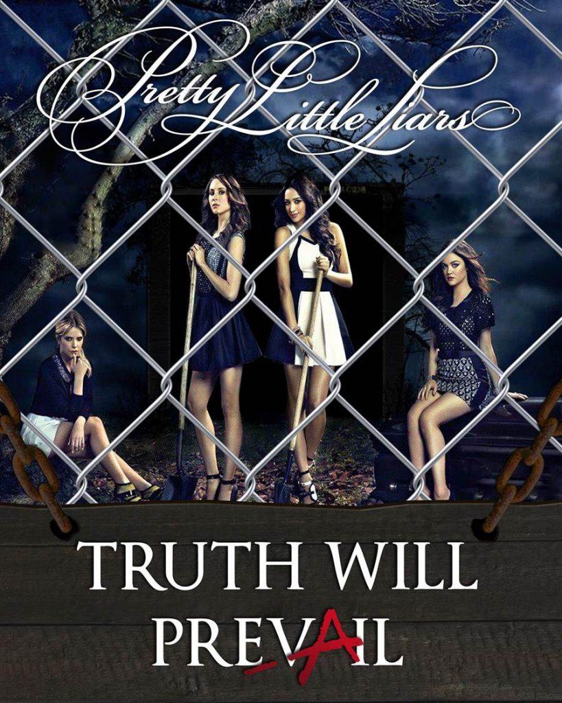Pretty Little Liars poster secret