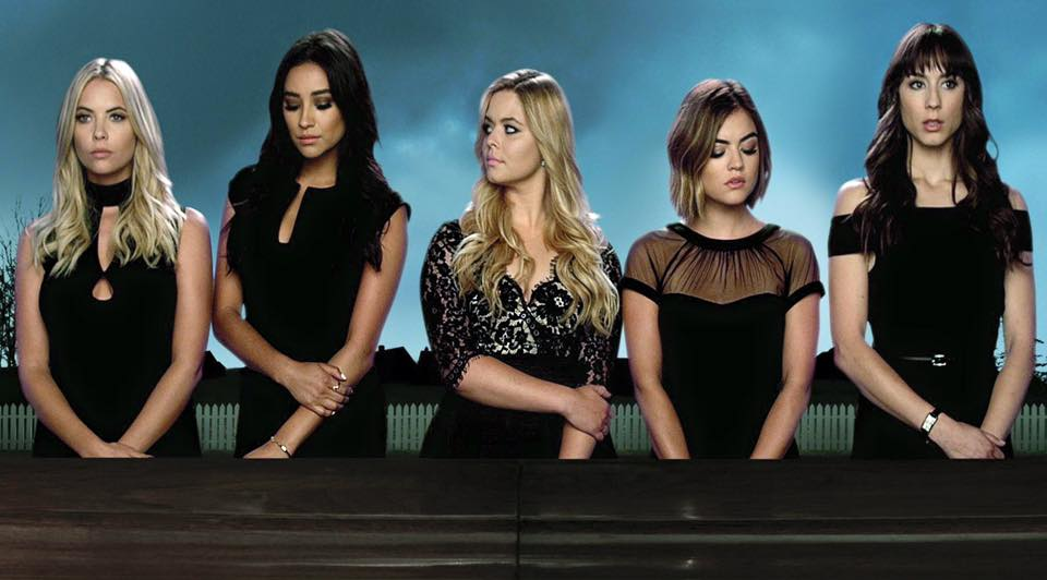 Pretty Little Liars poster Characters