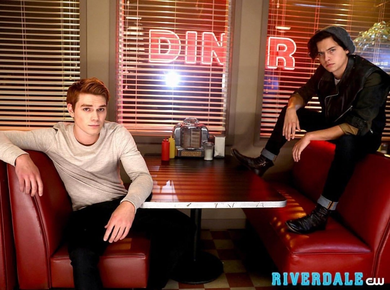 Riverdale Jughead and Archie poster
