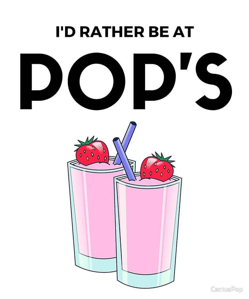 Riverdale milkshake poster