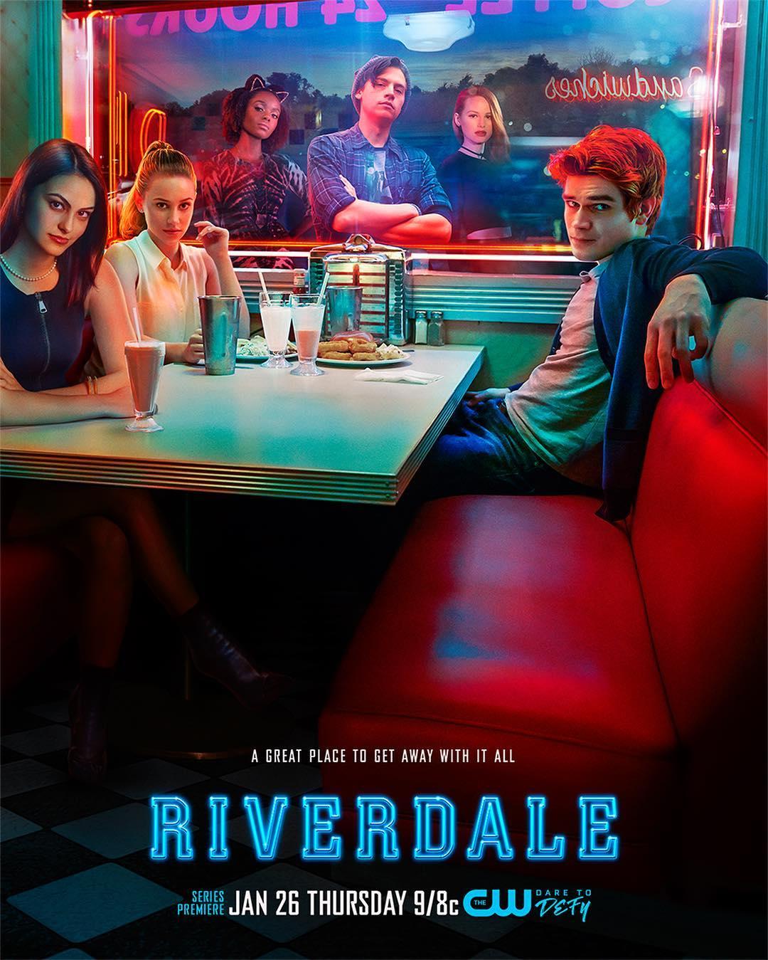 Riverdale Pops Diner poster