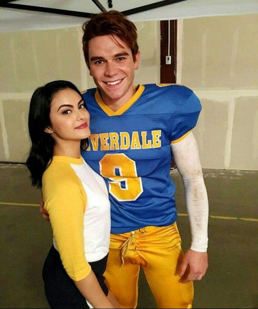 Riverdale Archie and Ronnie poster