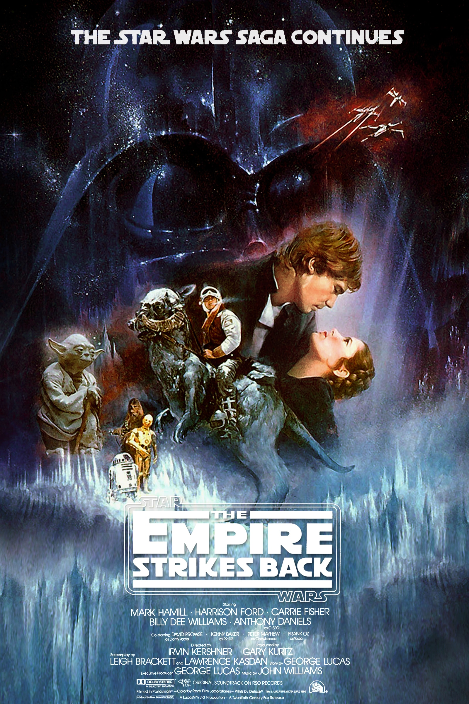 star wars the empire strikes back eipsode 5 1980 hd printable Poster wallpaper official poster