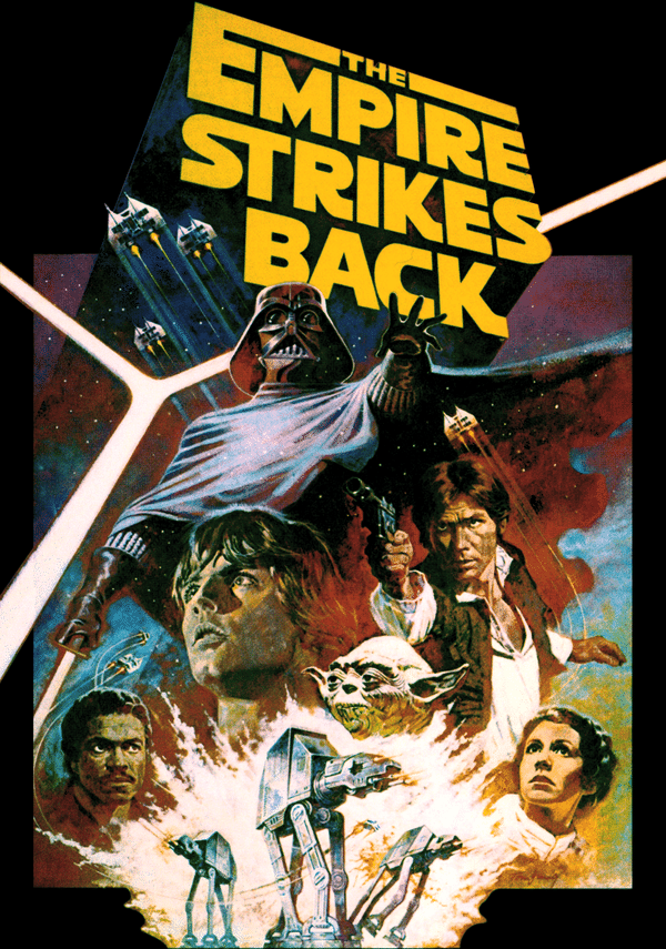 star wars the empire strikes back episode 5 1980 hd printable Poster wallpaper old style poster