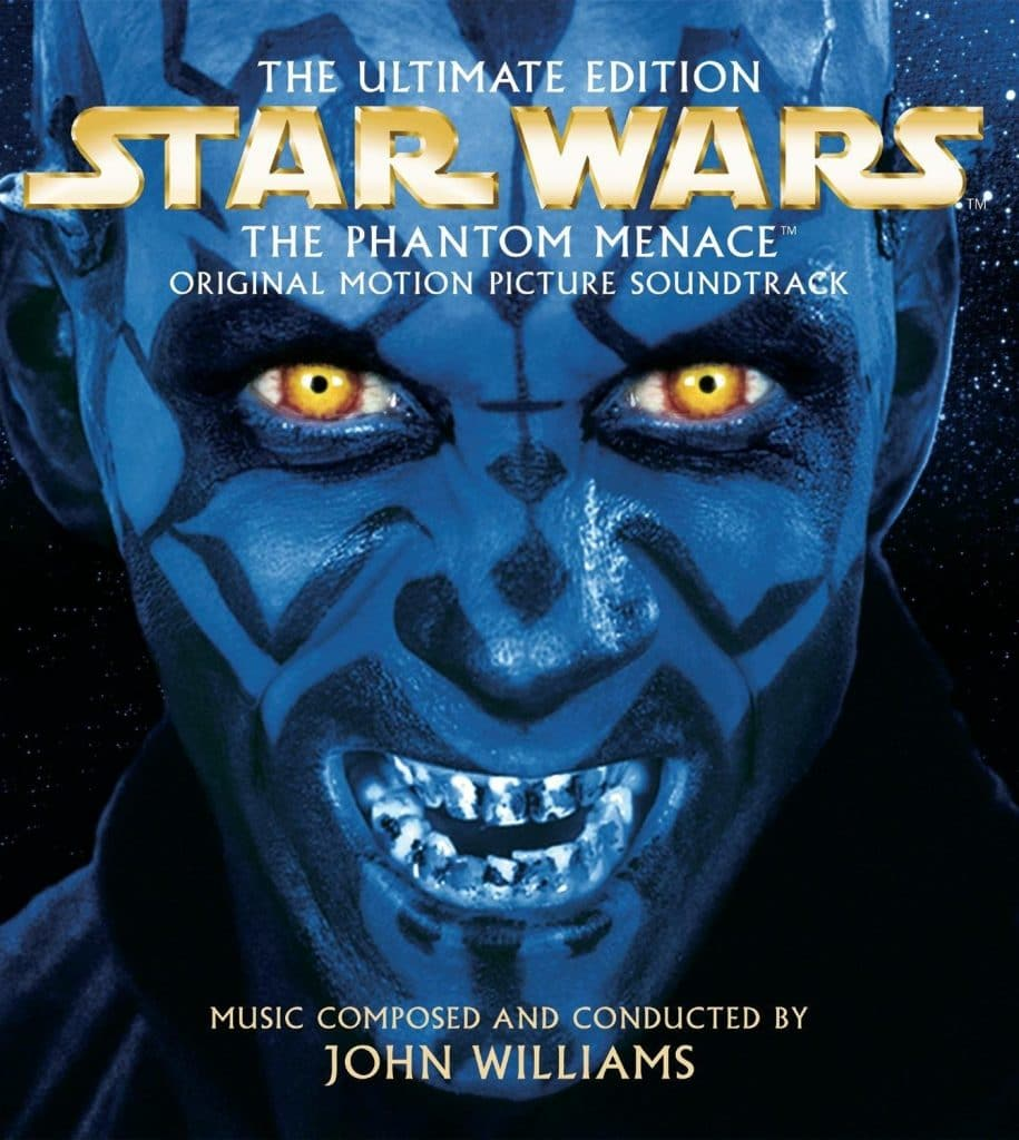 star wars the phantom menace 1999 hd printable poster wallpaper blue villain evil smile