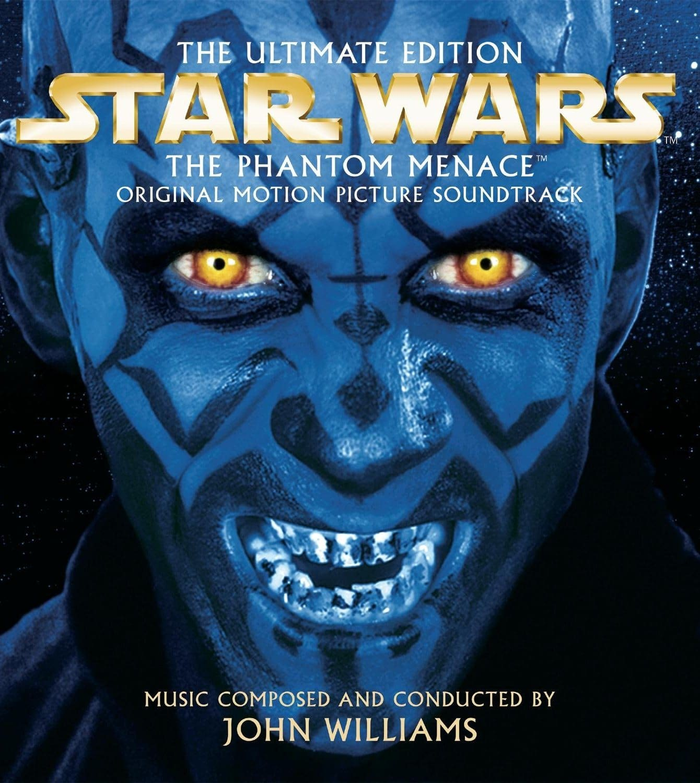 star wars the phantom menace 1999 hd printable poster wallpaper blue villain evil smile