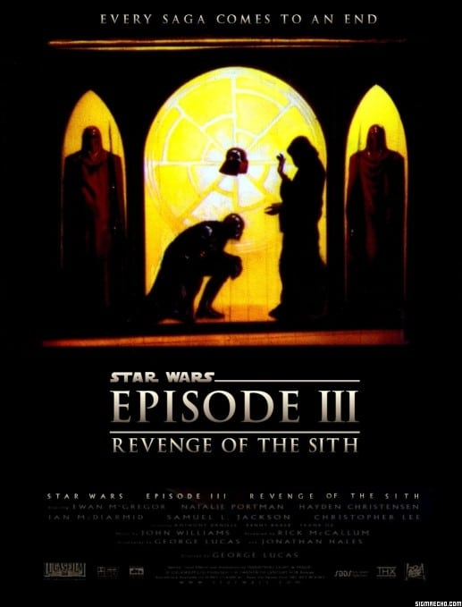 star wars hd printable poster wallpaper revenge of the sith episode 3
