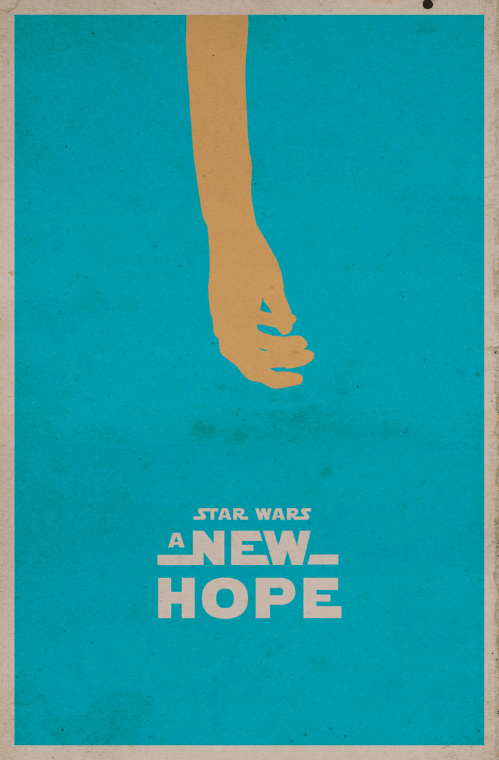 star wars hd printable poster wallpaper episode 4 a new hope