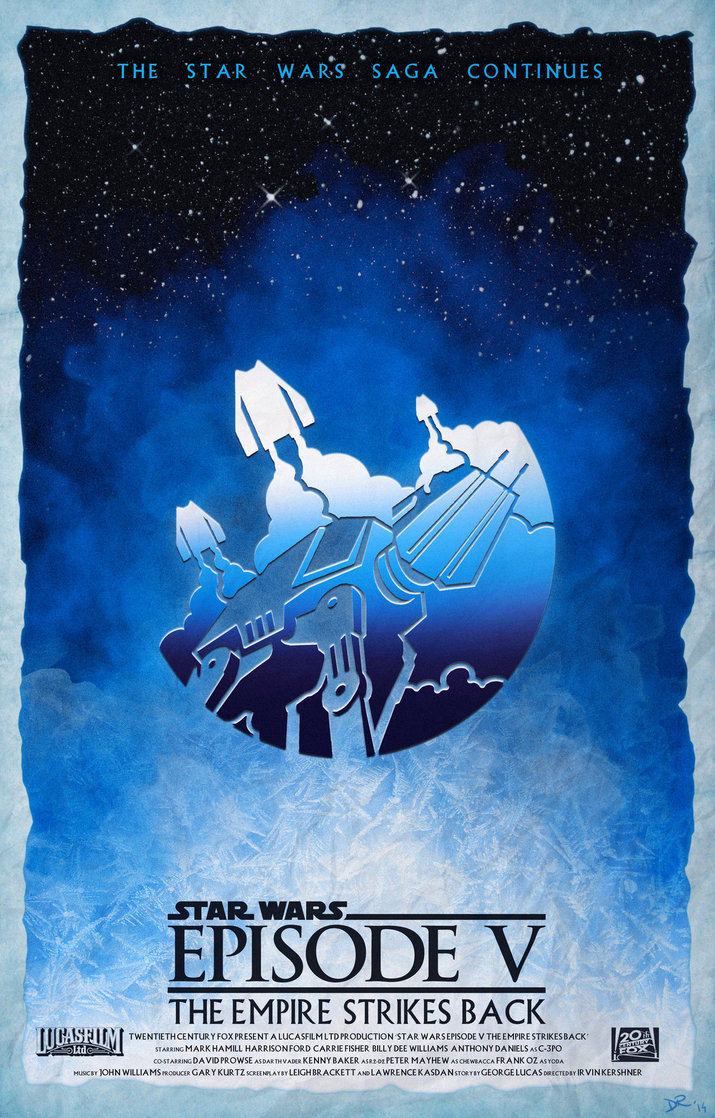 star wars hd printable poster wallpaper episode 5 the empire strikes back