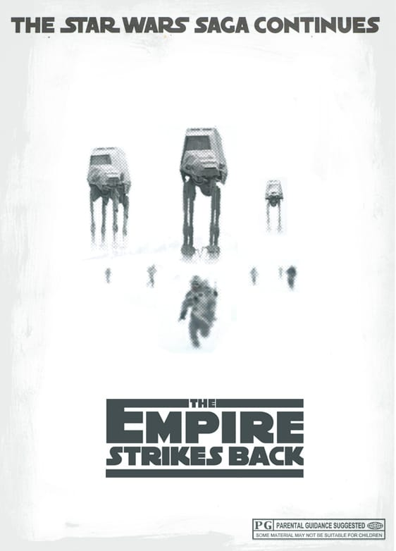 star wars hd printable poster wallpaper episode 5 the empire strikes back art poster animated best