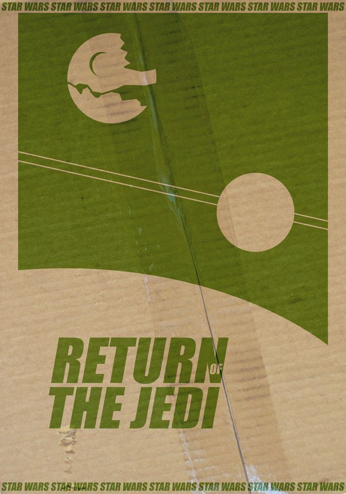 star wars hd printable poster wallpaper episode 6 return of the jedi old school poster