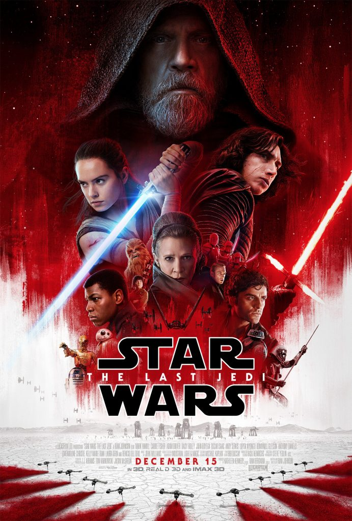 star wars the last jedi 2017 hd printable poster wallpaper official poster