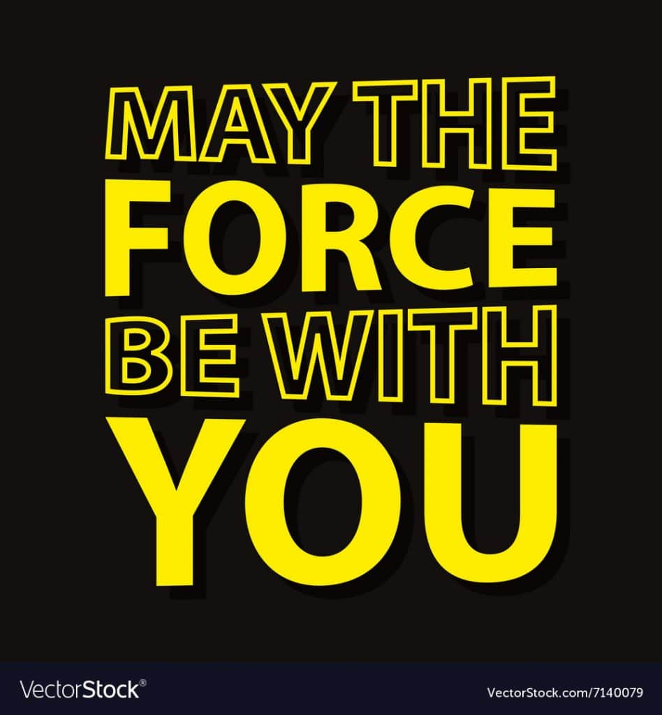 star wars hd printable poster wallpaper may the force be with your poster