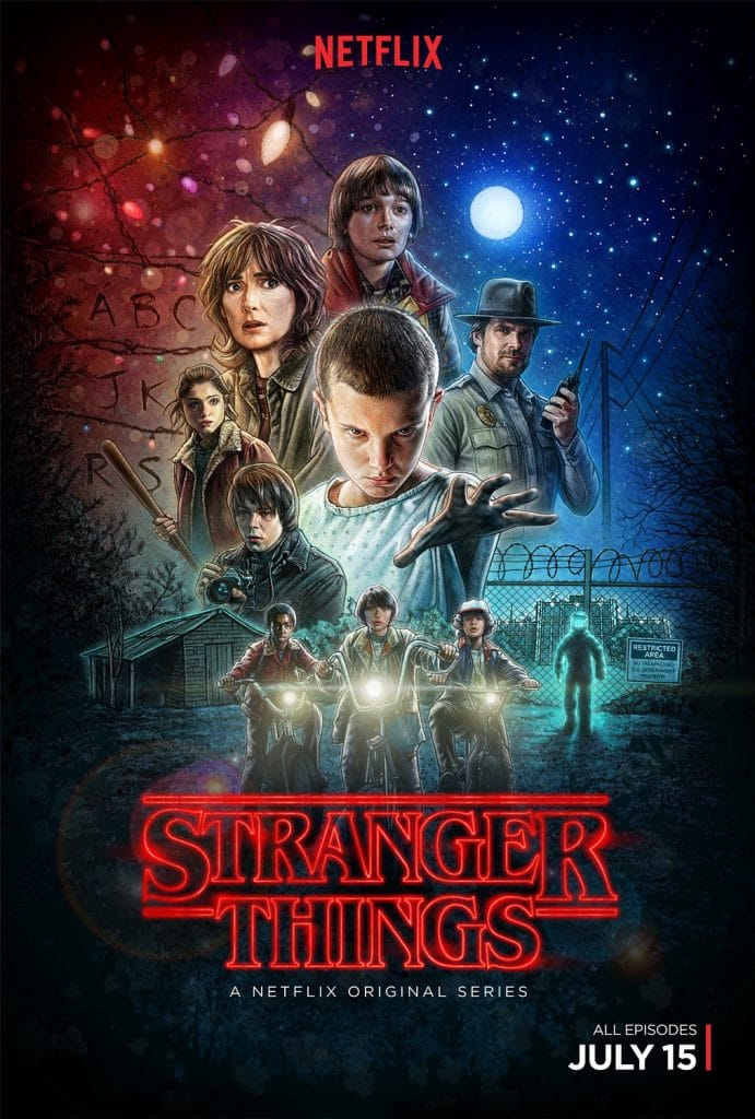 Stranger Things poster Season 1