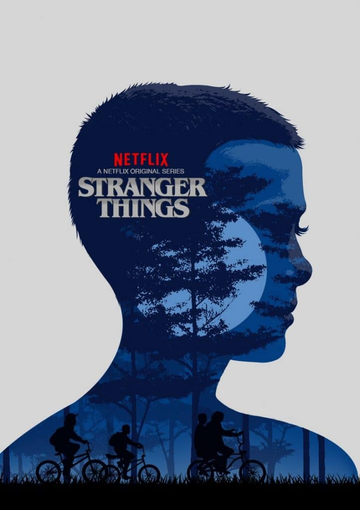 Stranger Things poster Eleven